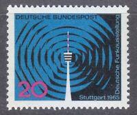 Germany 1965 MNH Mi 481 Sc 932 German Radio.Stuttgart Television Tower **