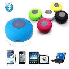 Mini Étanche Sans-fil Mains Libres Bluetooth Micro Succion Haut Parleur Douche