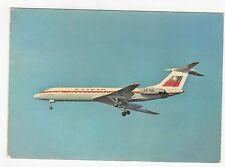 Balkan Airlines TU 134 Aviation Postcard, A756