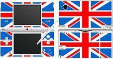 NDSi DSi-drapeau de l'Union Jack - 4 pièces-Autocollant peau UK