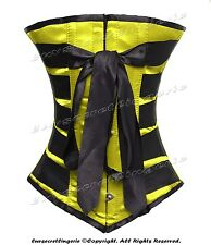 #HC8073BR-BT 100% Full Steel Boned Underbust Heavy Lacing Shaper Corset