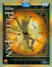 Disney's Peter Pan (Blu-ray, 2013, Diamond Edition)