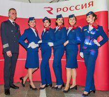 Rossiya Airlines Stewardess Flight Attendant Uniform C