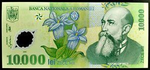 10000 Lei 2000 ( 10.000 ) ROMANIA Ghizari P-112a Iorga UNC / UNZ Rumanien