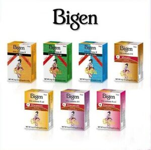 Bigen Permanent Powder Hair Dye Coloring Natural Men Women Change Hair Color 6g