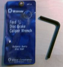 """Disc Brake Caliper Wrench 1/4"""" Hex (Allen) Tool #WF14 (most Ford) FREE SHIPPING"""
