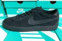Nike SB BRUIN PREMIUM black/black 631041003 suede FAST AF SHIPPING!!!!!
