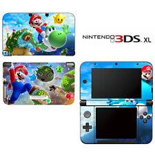 Vinyl Skin Decal Cover for Nintendo 3DS XL LL - Super Mario Galaxy Yoshi