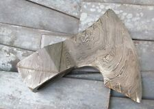 Custom Hand Made Moqen's Damascus steel Axe Head