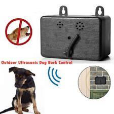 Dispositivo Ultrasónico Anti-ladrando al aire libre Perro control de corteza Sonic SILENCIADOR herramientas nos #