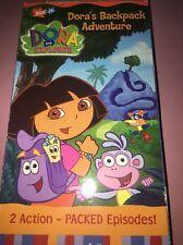 Dora the Explorer Dora's Backpack Adventure VHS, Nick Jr., Backpack, Big River