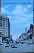 Amarillo, TX 1940 Postcard: Polk Street/Sears Roebuck & Co. - Texas Tex
