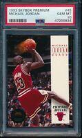 PSA 10 MICHAEL JORDAN 1993-94 SKYBOX PREMIUM Chicago Bulls HOF GOAT GEM MINT