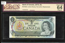 1973 Bank of Canada $1 Replacement Banknote - *FA3029725