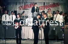 UNSEEN BEATLES Photo Pro Print * 8.5 x 11 * MUNICH 6/24/1966 Circus Krone Bau