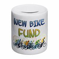 New Bike Fund Novelty Ceramic Money Box