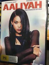 Aaliyah - The Princess Of R&B region 4 DVD (2014 drama biopic movie)