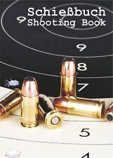 SCHIEßBUCH für Sportschützen - Bullet - DIN A6