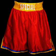 "*New* Kell Brook Signed Custom Made ""Special"" Boxing Trunks"
