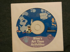 BLUES CLUES ART TIME ACTIVITIES NEW IN PAPER SLEEVE PC 95-98-ME-2000-XP CD 1999