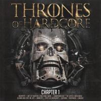 THRONES OF HARDCORE = Neophyte/Viper/Quitara/Amnesys...=2CD= HARDCORE GABBER !!