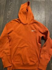 Nike Orange Size Small Therma-fit Boys Hoodie