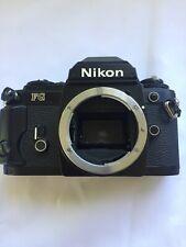 Nikon Fg 35mm Slr Film Camera Black Body Parts only