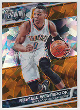RUSSELL WESTBROOK 2016 Panini National NSCC VIP Gold Pack Cracked Ice #/25