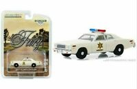 Hazzard County Plymouth Fury Sheriff Police Car Hobby Greenlight Fury 1:64