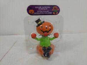 Jack O'Lantern Happy Halloween Solar Dancing Toy t5940