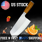 """8"""" Premium Professional Stainless steel Butcher Knife meat cleaver Ultra Sharp"""