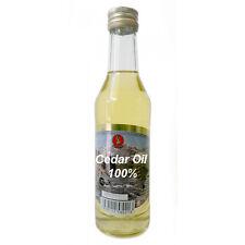 100% Siberian Altai Natural Cedar Pine Nut Oil, EXTRA VIRGIN Cold Pressed 250 ml