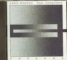 CHRIS SPHEERIS AND PAUL VOUDOURIS - PASSAGE - CD - NEW