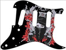 Stratocaster Strat Pickguard Custom Fender SSS 11 Hole Guitar Pick Guard Masked
