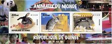 STAMP / TIMBRE GUINEE BLOC ** NEUF N° 1427/1429 FAUNE LAPIN