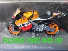MOTO GP 1/18 HONDA RC211V NICKY HAYDEN  2006 COLLECTION ALTAYA