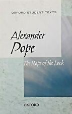 OXFORD STUDENT TEXTS BOOK ALEXANDRA POPE THE RAPE OF THE LOCK BRAND NEW