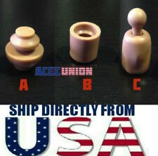 3 x 1/6 Male Neck Joint Adapter Peg Inner Connector Set For Hot Toys USA SELLER
