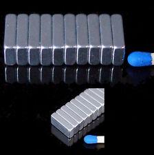 50x magneti al neodimio parallelepipedo 10,5 x 5,5 x 2,5 mm n50 1,6kg NdFeB 10,5x5,5x2,5 mm