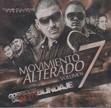CD - Movimiento Alterado Vol. 7 NEW Corridos De Alto Blindaje FAST SHIPPING !