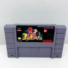 Mighty Morphin Power Rangers Super Nintendo Entertainment System SNES