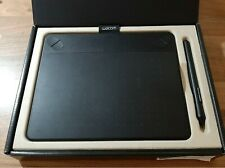 Wacom intuos small black drawing tablet with pen and touch screen, 2nd hand