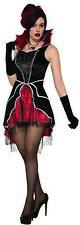Womens Queen Temptress Vampire Black Red Dress Adult Standard Halloween Costume