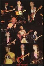 The Police Live! Original 80's Poster 23x35
