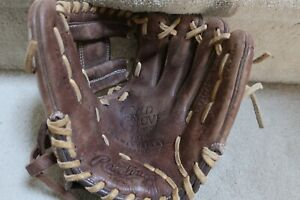 """Rawlings Pre owned Limited Edition Gold Glove RHT 10 3/4"""" Model GG1075-125"""
