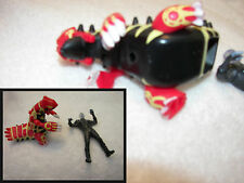 McDonalds happy meal toys 2014 lights up Spider-Man /power ranger dragon
