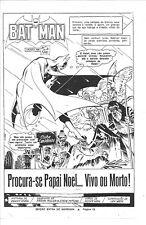 VINTAGE EARLY FRANK MILLER BATMAN ISS # ? Pg 1 EBAL DC COMICS BRAZILIAN VARIANT