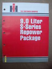 Vintage IH international Harvester 9.0 Liter S-Series Repower Package Brochure