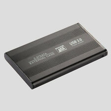 "2.5"" SATA HDD Disco Rigido Scatola Case Esterna USB 3.0 per Laptop Desktop PC"