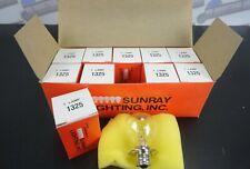 New listing Sunray Lighting, Inc * Box of 10 * Model 1325 Bulbs 6.2V, 4.13A, 25.6W (New)